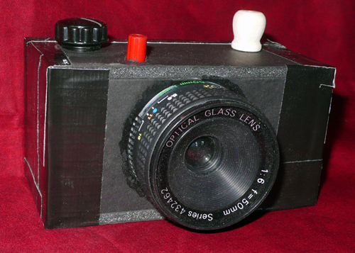 DIY 35mm Foam Core Toy Camera
