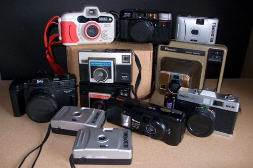 Recently Acquired Cameras
